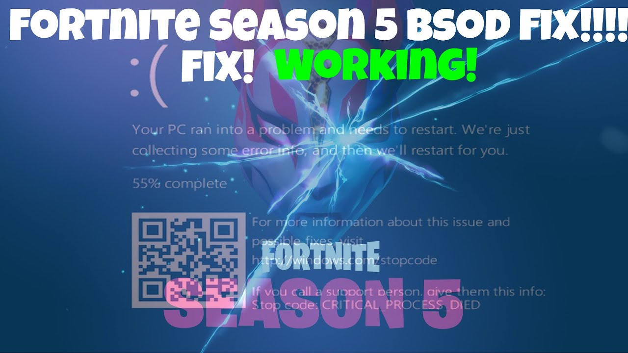 Fortnite Season 5 BSOD FIX! by KarmaZMS