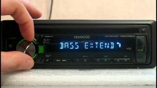Відеоогляд автомагнітоли Kenwood KDC-4051U