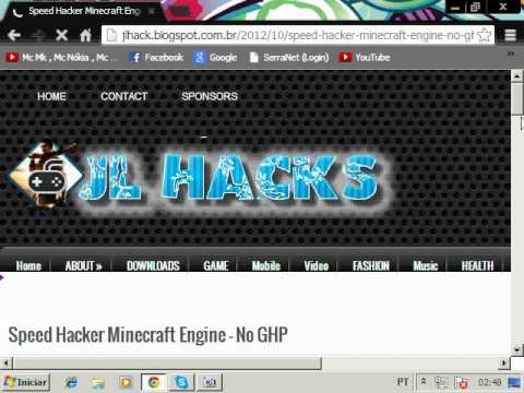 #Como Baixar - O Speed Hack Minecraft Engine #