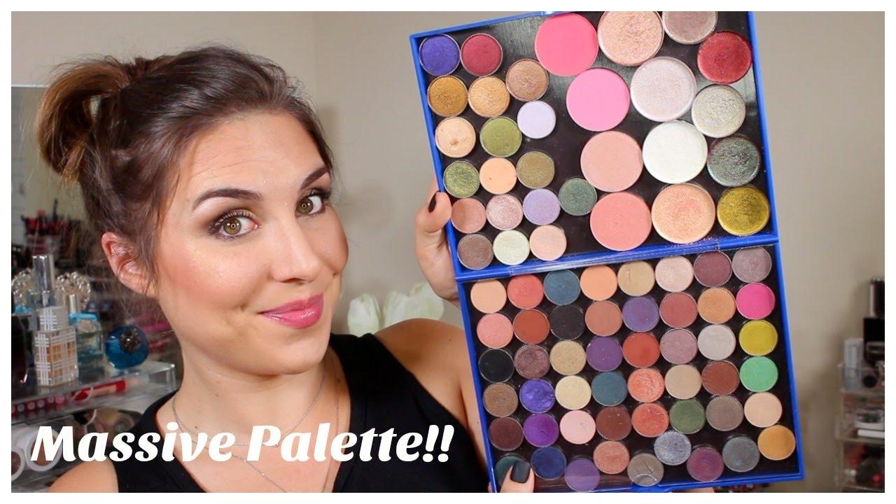 Huge Magnetic Makeup Palette Review Adept Cosmetics