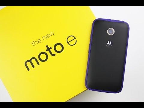Motorola Moto E 2015 (2nd Generation) Unboxing deutsch