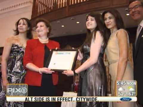 WPIX Coverage HBCSF Gala 2011