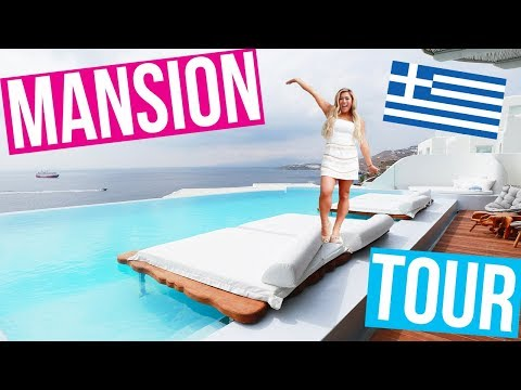 PRIVATE MANSION TOUR IN GREECE!!