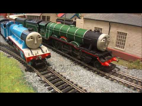 The Flying Scotsman Shows Off His Two Tenders