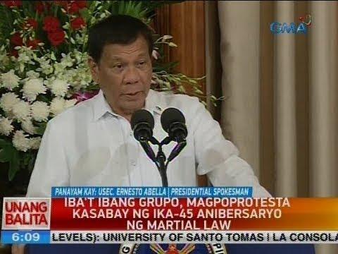 UB: Panayam kay Usec. Ernesto Abella, Presidential Spokesman