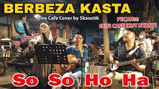 Download Mp3 Berbeza Kasta Thomas Arya Live Cafe Cover by Skaustik