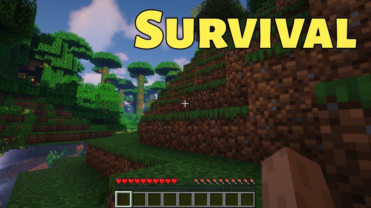 Minecraft Survival Stream