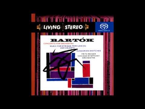 BARTOK: Hungarian Sketches Sz. 97 / Reiner · Chicago Symphony Orchestra