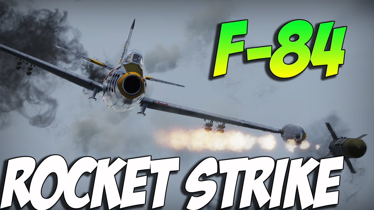 War Thunder F-84 Jet Gameplay- This Planes WORTH IT! - YouTube