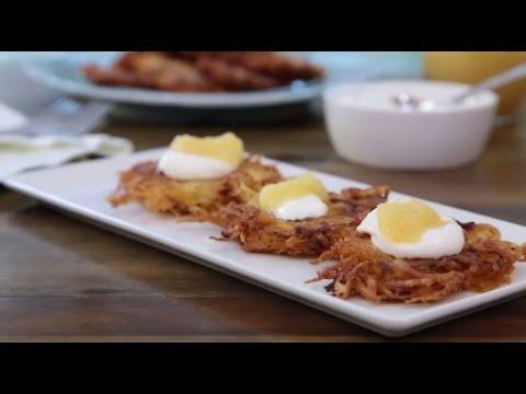 How To Make Mom S Potato Latkes Main Dish Recipes Allrecipes Youtube