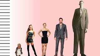 how tall is ariana grande celebrity height comparison