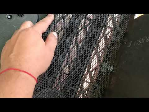 Лада Веста, установка сетки в передний бампер своими руками.