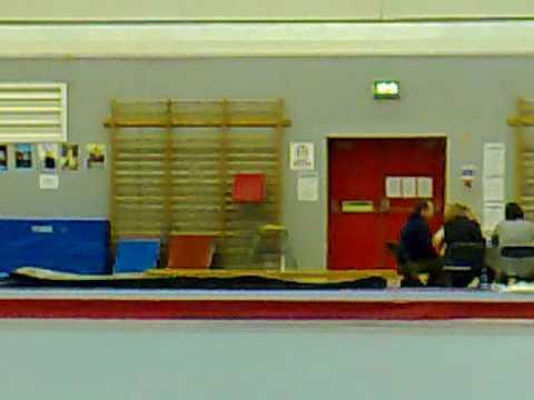 Lauren Haddock vault gymnastics Grade 14 vault.mp4