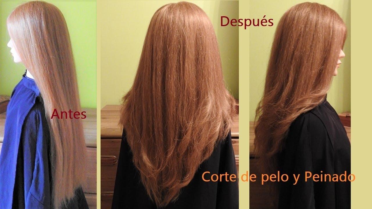 Cortar el largo del pelo