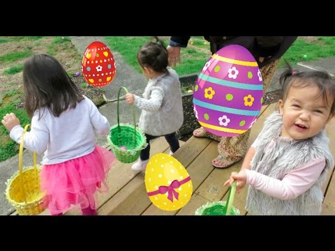 EASTER EGG HUNTING & DADDY'S BIRTHDAY! - March 27, 2016 -  ItsJudysLife Vlogs