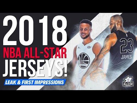 2018 NBA All-Star Jersey LEAK + FIRST IMPRESSION