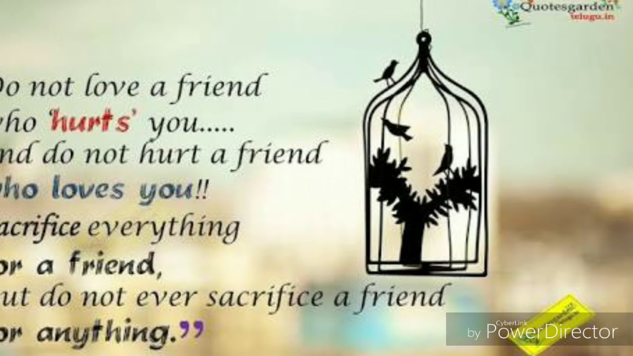 Heart touching words about friendship