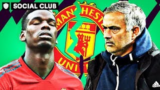WHO IS AT FAULT AT MAN UNITED: POGBA OR MOURINO? | SOCIAL CLUB
