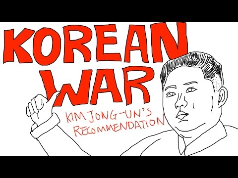 Korean War Explained in 5 Mins with Drawings! (Kim Jong-Un likes it) (Battles, history, facts)