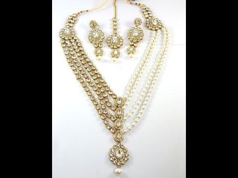 Costume Art Necklace, Wholesale Costume Necklace, Wholesale Indian Jewellery