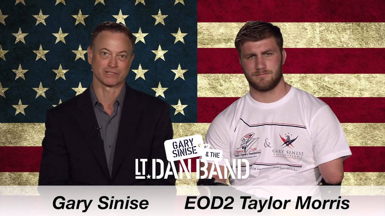 Taylor Morris PSA - Gary Sinise & the Lt. Dan Band - YouTube