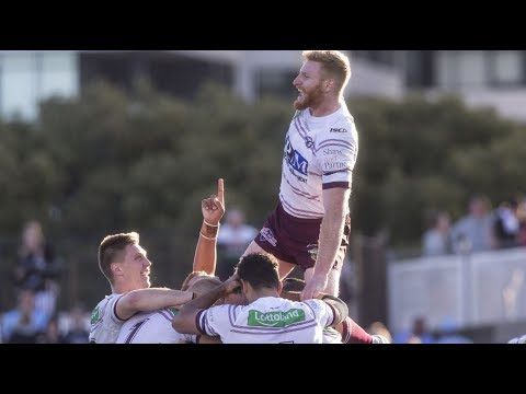 NRL Highlights: Cronulla Sharks v Manly Sea Eagles - Round 21