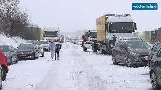 Unfälle durch Schnee und Eisregen (26.01.2019)