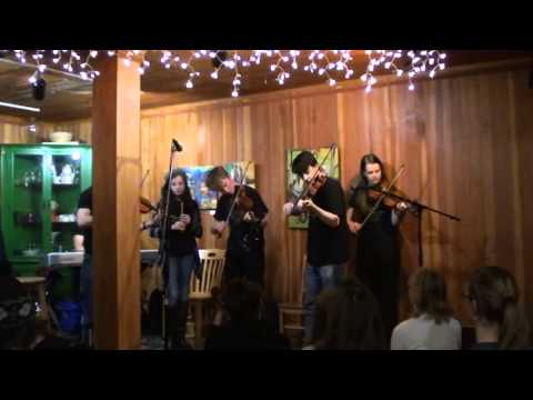Center for Irish Music's Advanced Student Ensemble at Coffee Grounds Cafe