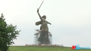 Скульптуре «Родина-мать зовет!» в Волгограде вернут изначальный цвет
