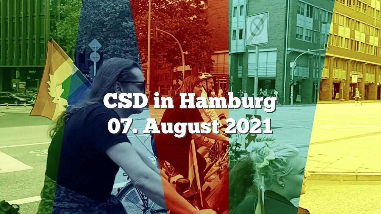 CSD Hamburg 2021 - YouTube