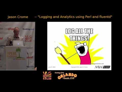 Logging and Analytics using Perl and fluentd