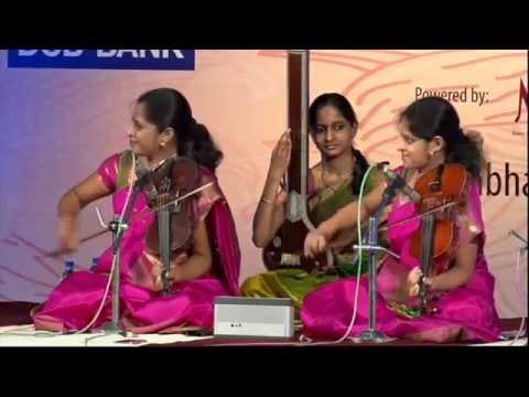 Bharat Sangeet Utsav 2015 | Siblings Sangeeth | Akkarai Sisters | Subhalakshmi | Sornalatha