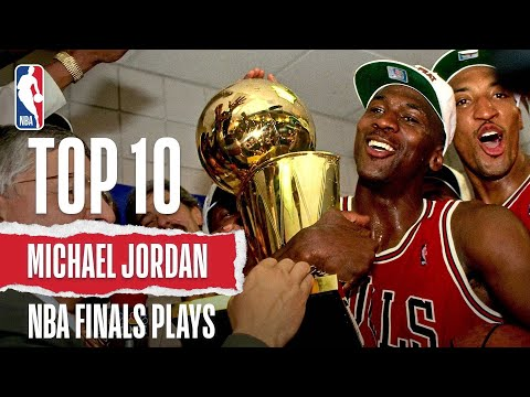 Michael Jordan's Top 10 Plays: Career Finals