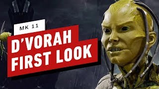 Mortal Kombat 11: D'Vorah First Look