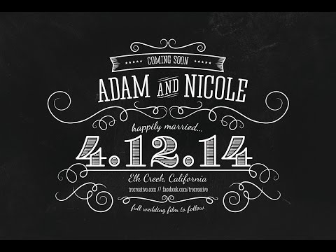 Aerial Videography Wedding Teaser - Elegant Ranch Wedding