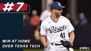 #7 - DBU Baseball's Top 10 Moments of 2018