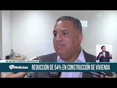 Desaceleración de la construcción de vivienda en Pereira.