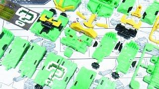 よみがえる動物戦隊ジュウオウジャー ミニプラ06 キューブオクトパス Cube Octopus