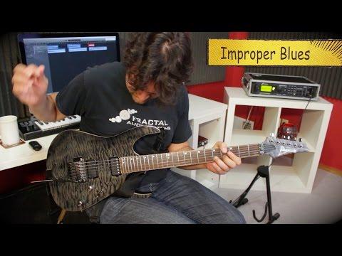 Improper Blues Guitar Solo