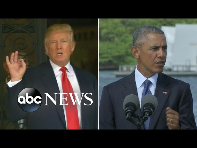 Donald Trump Blasts President Obama on Twitter