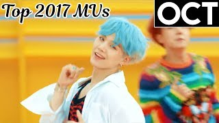 [TOP 100] Most Viewed KPop Music Videos of 2017 (October)