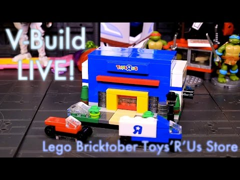 Lego Bricktober Toys'R'Us Store - V-Build 93 - Feb 14 2016