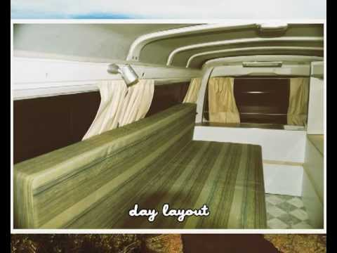 small camper van conversion layout by SSC  YouTube
