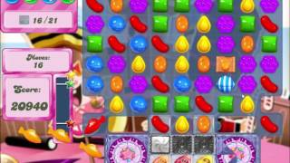 Candy Crush Saga Level 394 Clear all the Jelly! - Hard Level