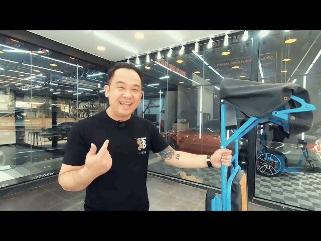 Mr Xuân Hoàn review xe 3 bánh điện của QBS