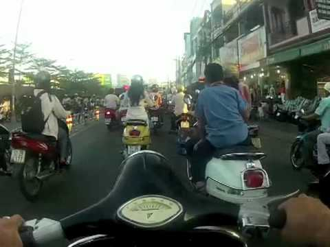 My Drive Home. - District 1 to District 7 Saigon