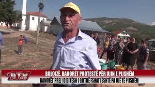 Bulqiza TV Kovashic, protest per ujin e pijshem