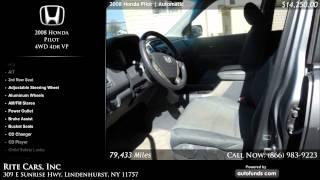 Used 2008 Honda Pilot | Rite Cars, Inc, Lindenhurst, NY - SOLD