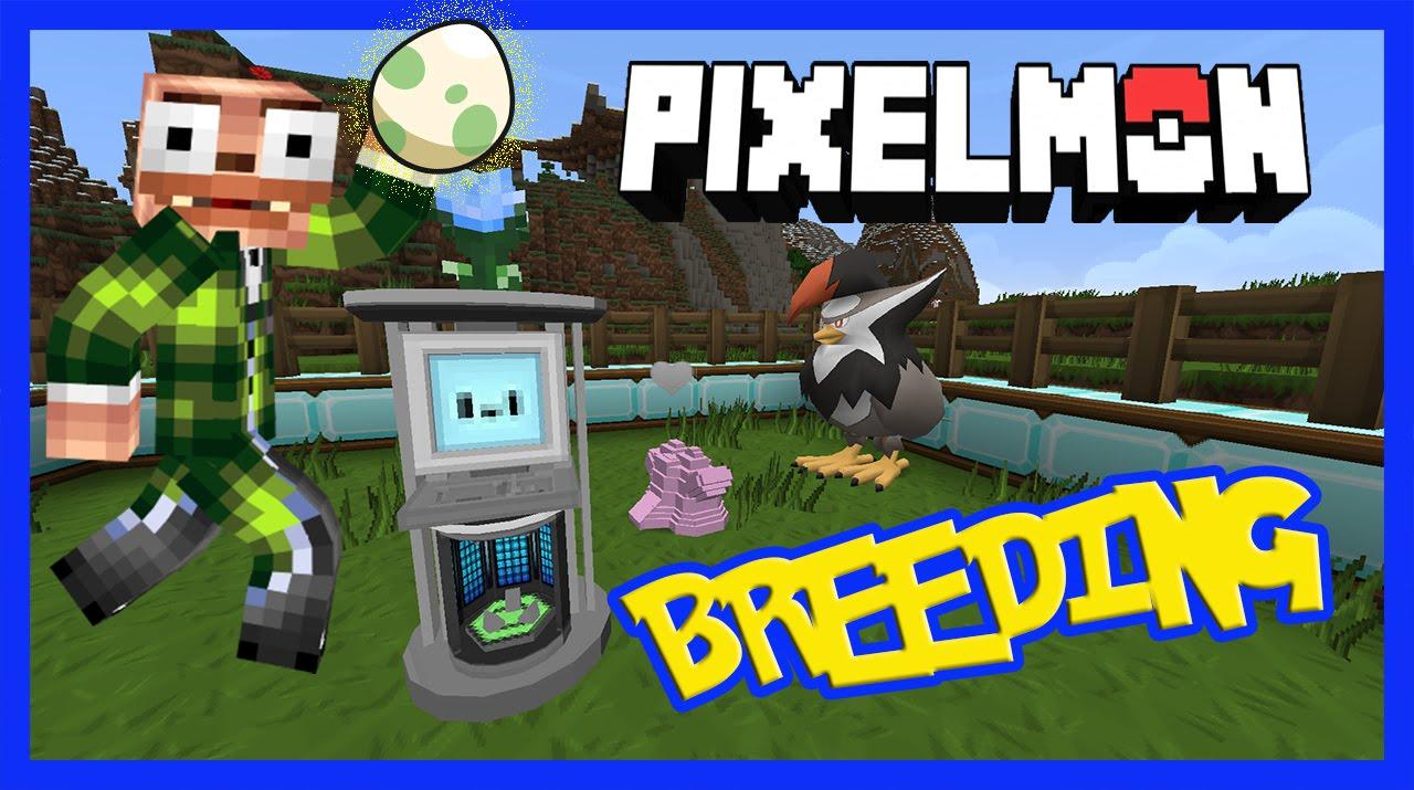 Pixelmon Breeding Tutorial
