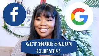 Marketing for Salons and Beauty Brands -  Understanding Facebook and Google Ads
